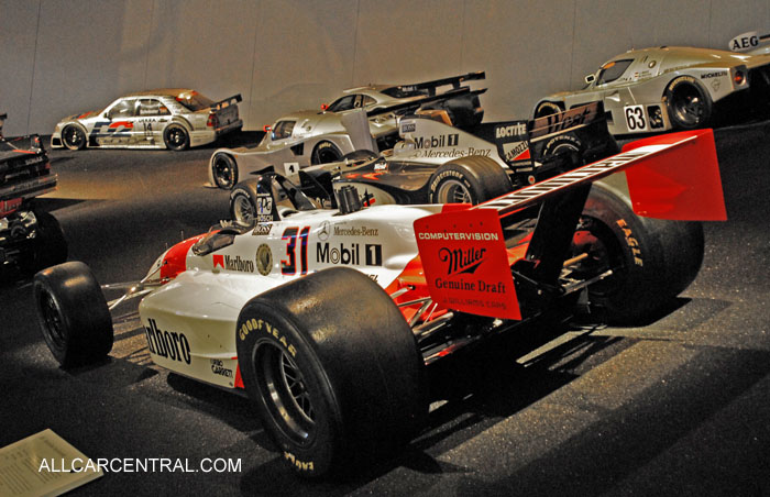 Mercedes-Benz Museum Photographs 2012 Gallery 1960-2000 ...