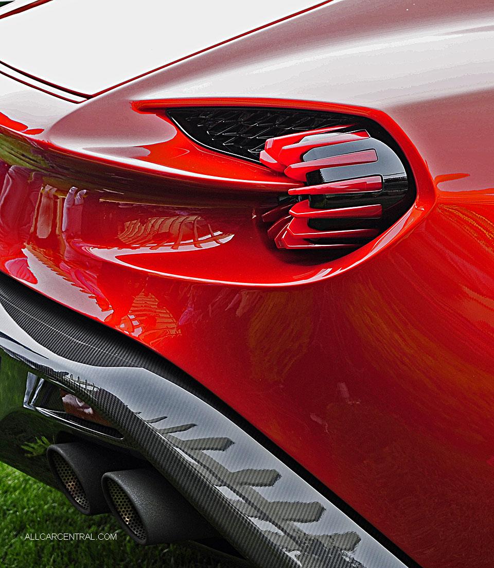 2016 Aston Martin Vanquish Camshaft: Pebble Beach Concours D'Elegance, Concept Cars 2016